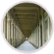Palais Royale Round Beach Towel