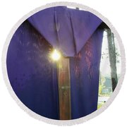 Palm Sunday  Round Beach Towel