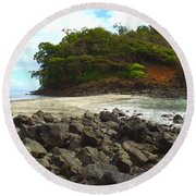 Panama Island Round Beach Towel