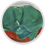 Paper-thin Bowl  09-007 Round Beach Towel
