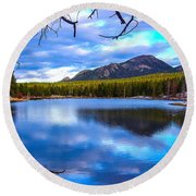 Round Beach Towel featuring the photograph Paradise 2 by Shannon Harrington
