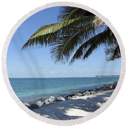 Paradise - Key West Florida Round Beach Towel