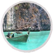 Paradise Water Holiday Round Beach Towel