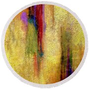 Parallel Dreams Round Beach Towel