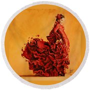 Passion Round Beach Towel