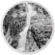 Path Of Least Resistance Round Beach Towel