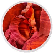 Pathway To Beauty Round Beach Towel by Greg Norrell