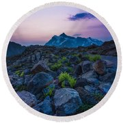 Pathway To Light Round Beach Towel