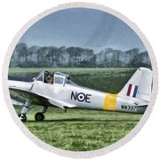 Percival Provost T1 G-bkhp Round Beach Towel