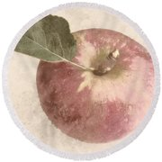Perfect Apple Round Beach Towel