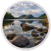 Perfect Pond Round Beach Towel