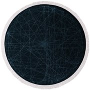 Perfect Square Round Beach Towel