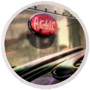 Peterbilt Round Beach Towel
