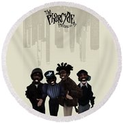 Pharcyde -passing Me By 1 Round Beach Towel