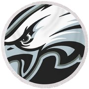 Philadelphia Eagles Football Round Beach Towel