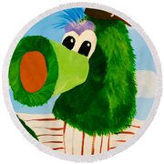 Philly Phanatic Round Beach Towel