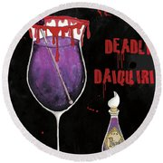 Pick Your Poison Iv Round Beach Towel