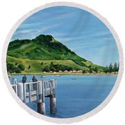 Pilot Bay 280307 Round Beach Towel