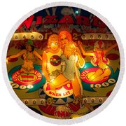 Pinball Wizard Tommy Vintage Round Beach Towel