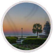 Dawns Light Round Beach Towel by Dale Powell