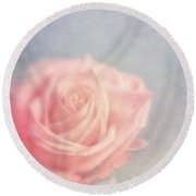 pink moments I Round Beach Towel