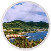 Pirates Cove Round Beach Towel