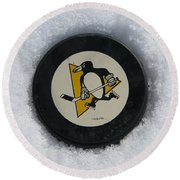 Pittsburgh Penguins Round Beach Towel