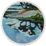 Point Paradise Round Beach Towel