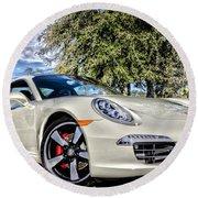 Porsche 50th Anniversary Limited Edition Round Beach Towel