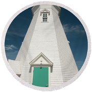 Port Dalhousie Lighthouse 9057 Round Beach Towel