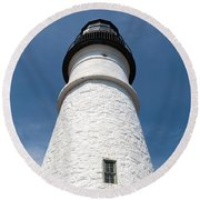 Portland Headlight IIi Round Beach Towel