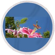 Possibilities 3  Round Beach Towel