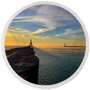 Possiblities Round Beach Towel