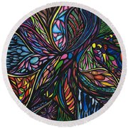 Possiblity  Round Beach Towel