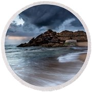 Praia Formosa Round Beach Towel