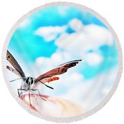 Precious Moment Round Beach Towel