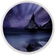 Prelude To Divinity Round Beach Towel