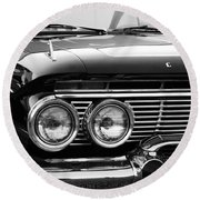Pretty Chevy Round Beach Towel