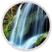Price Falls 4 Of 5 Round Beach Towel by Jason Politte