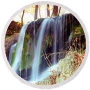 Price Falls 5 Of 5 Round Beach Towel by Jason Politte