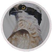 Proud Osprey Round Beach Towel