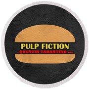 Pulp Fiction Round Beach Towel
