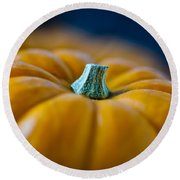 Pumpkin Time Round Beach Towel