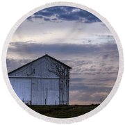 Round Beach Towel featuring the photograph Pure Country by Sennie Pierson