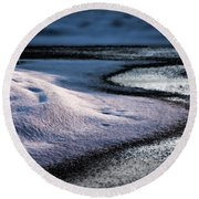Purity Round Beach Towel