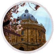 Radcliffe Camera Bodleian Library Oxford  Round Beach Towel by Terri Waters
