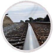 Rail Rode Round Beach Towel