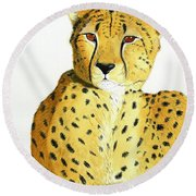 Rajah Round Beach Towel