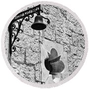 Rancho Encinal Round Beach Towel