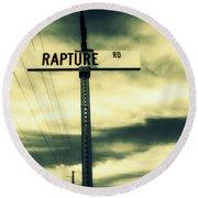 Rapture Road Round Beach Towel